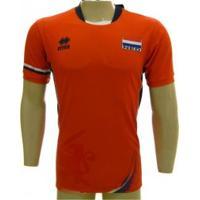 Camisa Nevobo Holanda Volei Errea 17/18 Lrj - Errea