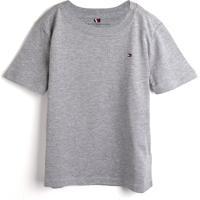 Camiseta Tommy Hilfiger Kids Menino Lisa Cinza