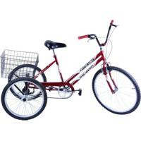 Bicicleta Triciclo Aro 26 - Unissex