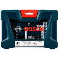 Jogo De Ferramentas 41 Unidades Em Poliamida E Aço V-Line Bosch.