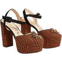 Sapato Meia Pata L Pedraria Eva - Feminino