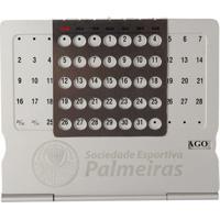 Calendário Permanente Palmeiras - Unissex