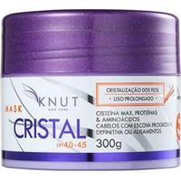 Máscara Knut Cristal 300G - Unissex-Incolor
