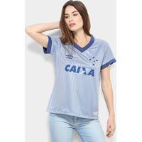 Camisa Cruzeiro Iii 18/19 S/N - Torcedor Umbro Feminina - Feminino