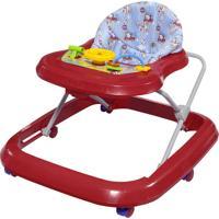 Andador Toy Vermelho Tutti Baby