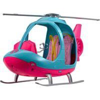 Helicóptero Explorar E Descobrir Barbie Azul/Rosa