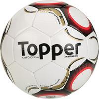Netshoes  Bola Futebol Campo Topper Maestro Td2 - Masculino 3eb9f68051cc2