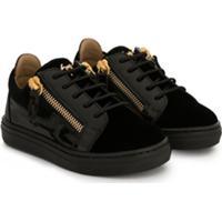 Giuseppe Zanotti Kid London Sneakers - Preto