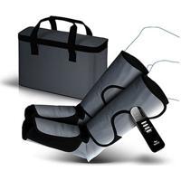 Massageador Para Pernas E Pés F10 Air Massage - Relaxmedic - Unissex-Cinza