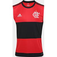 Camisa Regata Flamengo I 17/18 -Torcedor Adidas Masculina - Masculino