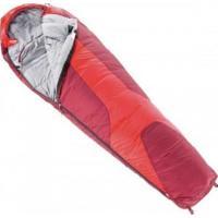 Saco De Dormir Deuter Orbit 0° Acoplável Temperatura Até -14° Vermelho