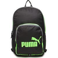 Mochila Puma Phase Preta/Verde