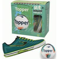 Kit Infantil Goleada Ii - Topper - Masculino
