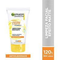 Limpeza Facial Garnier Skin Uniform & Matte - 120G - Feminino-Incolor