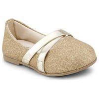 Sapatilha Infantil Bibi Ballerina Mini Dourada - 1152012