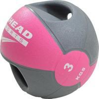 Medicine Ball Com Manopla Ahead Sports 3Kg - Unissex