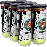 Bola De Tênis Babolat Roland Garros - Pack Com 6 Tubos - Unissex