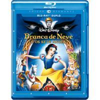 Branca De Neve E Os 7 Anões Blu Ray Duplo Filme Infantil