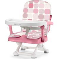Cadeira De Alimentacao Portatil Up Seat Rosa Weego 4046