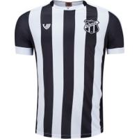 Camisa Do Ceará I 2020 Nº 10 - Masculina - Preto/Branco