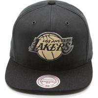Boné Mitchell & Ness Terrain Nba La Lakers Aba Reta - Unissex