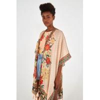 Kimono Baem - Est Baem_Rosa Bloom - U