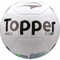 ... Bola Futebol Campo Topper Kv Carbon Réplica - Unissex 3986fea1ca3e6