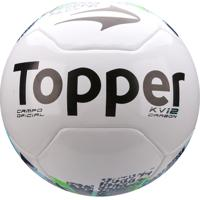 ... Bola Futebol Campo Topper Kv Carbon Réplica - Unissex 5c320022f7a71