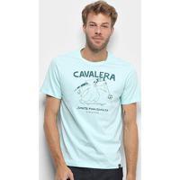Camiseta Cavalera Skate Punk Jamaica Masculina - Masculino-Verde