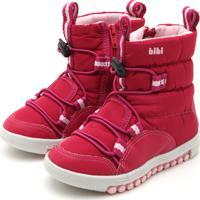 Bota Bibi Menina Roller New Vermelha