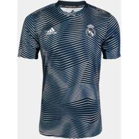 Camisa Real Madrid Pré-Jogo 19/20 Adidas Masculina - Masculino