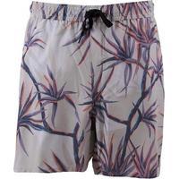 Bermuda Quiksilver Palms Volley Masculina - Masculino-Areia