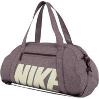 Mala Nike Gym Club - 30 Litros - Marrom
