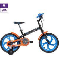 Bicicleta Infantil Aro 16 Caloi Hot Wheels - Masculino