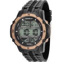 Kit De Relógio Digital Speedo Masculino + Carregador Portátil - 81135G0Evnp5K Preto