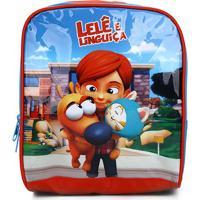 Lancheira Infantil Luxcel Lelê E Linguiça - Masculino