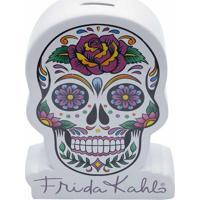Cofre Da Frida Kahloâ® Mexican Skull- Branco & Lilã¡S-Urban