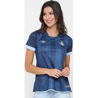 Camisa Grêmio Iii 17/18 S/N° - Torcedor Umbro Feminina - Feminino