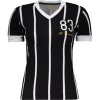 Camisa Corinthians Retrô 1983 Feminina - Feminino