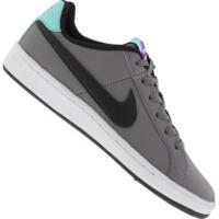 Tênis Nike Court Royale Gs - Infantil - Cinza Escuro/Preto