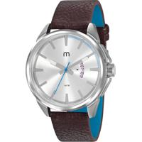 Kit De Relógio Analógico Mondaine Masculino + Pulseira - 32000G0Mgnh1K Marrom