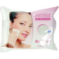 Lenço Umedecido Removedor De Maquiagem Ruby Rose Branco