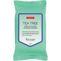Purederm Lenço Demaquilante Tea Tree C/ 30 Lenços - Feminino-Incolor