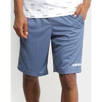 Short Adidas Essential Masculino - Masculino-Azul