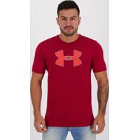 Camiseta Under Armour Big Logo Vermelha