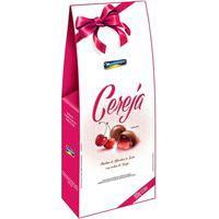 Bombons Montevergine Chocolate Ao Leite Com Recheio De Cerejas Picadas E Licor Com 100G