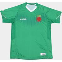 Netshoes  Camisa De Goleiro Vasco Ii 2018 S N° Torcedor Diadora Masculina -  Masculino 24798cfaf22c0