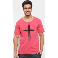 Camiseta Bossa Brasil Cross Masculina - Masculino-Rosa