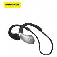 Fone De Ouvido Bluetooth Earphone Awei A885Bl - Preto E Prata