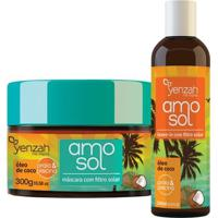 Yenzah Amo Sol Kit - Leave-In + Máscara Ultra Hidratante Kit - Unissex-Incolor